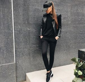 Outfits con color negro