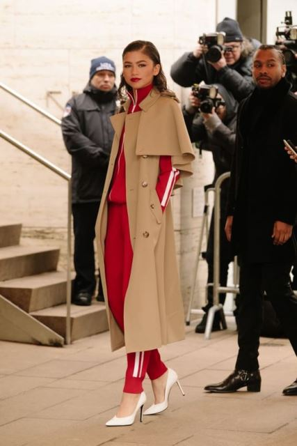 tracksuit trench